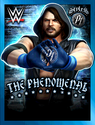 AJ Styles 'The Phenomenal One'