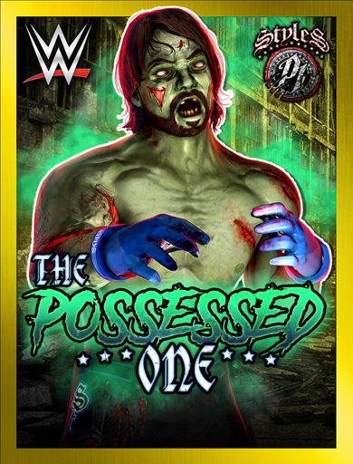AJ Styles 'The Possessed One' Poster