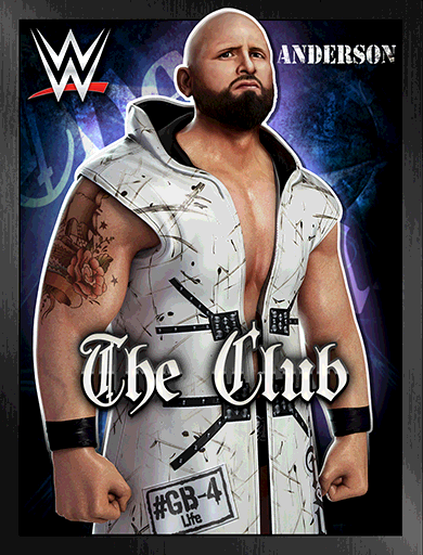 Karl Anderson 'The Club' Poster