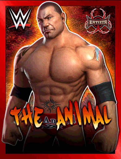 Batista 'The Animal' Poster