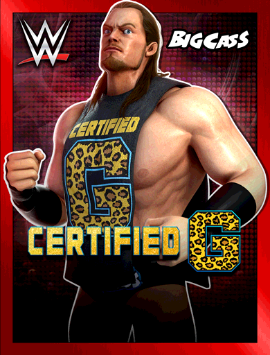 Big Cass 'Certified G' Poster