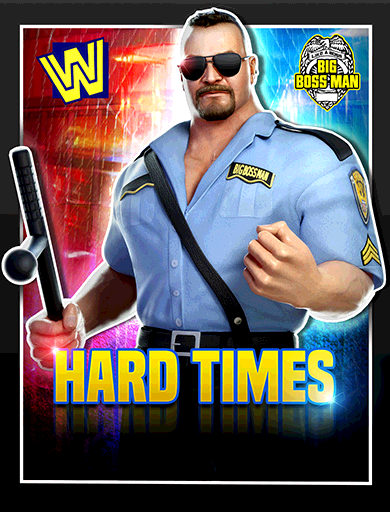 Big Boss Man 'Hard Times' Poster