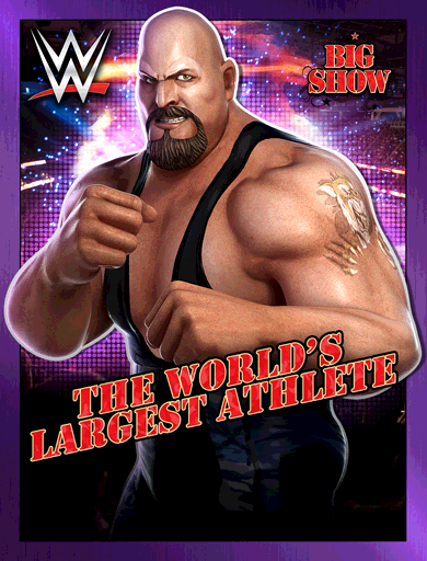 Big Show 'The World's Largest Athlete' Poster