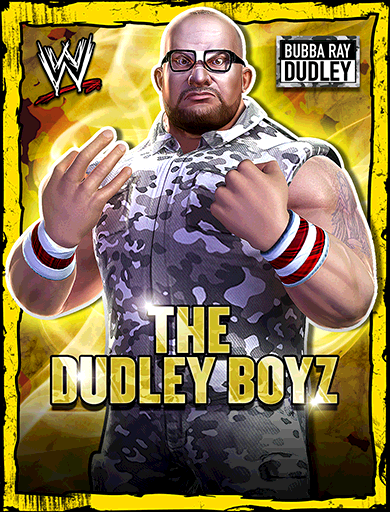 Bubba Ray Dudley 'The Dudley Boyz' Poster