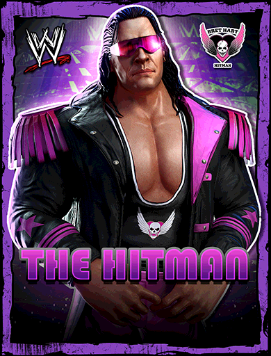 Bret Hart 'Hit Man'