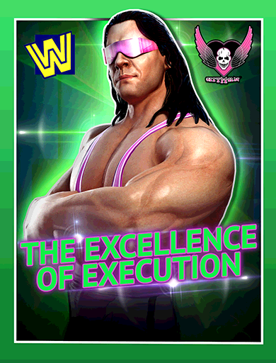 Bret Hart 'The Excellence of Execution' Poster