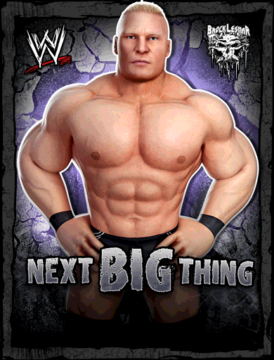 Brock Lesnar 'The Next Big Thing'