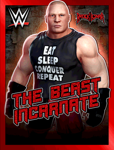 Brock Lesnar 'The Beast Incarnate'