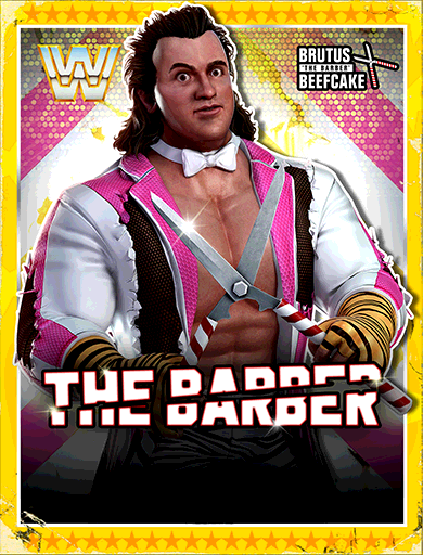 Brutus Beefcake 'The Barber' Poster
