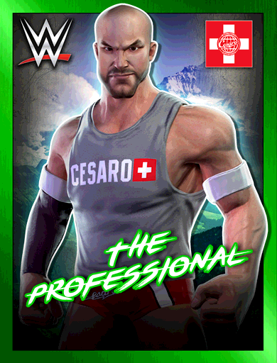 Cesaro 'The Professional' Poster