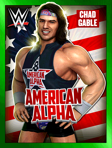 Chad Gable 'American Alpha' Poster