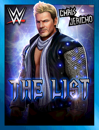 Chris Jericho 'The List'