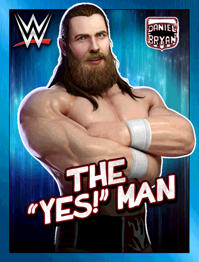 Daniel Bryan 'The Yes! Man' Poster