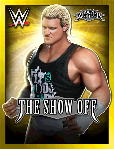 Dolph Ziggler 'The Showoff' Poster