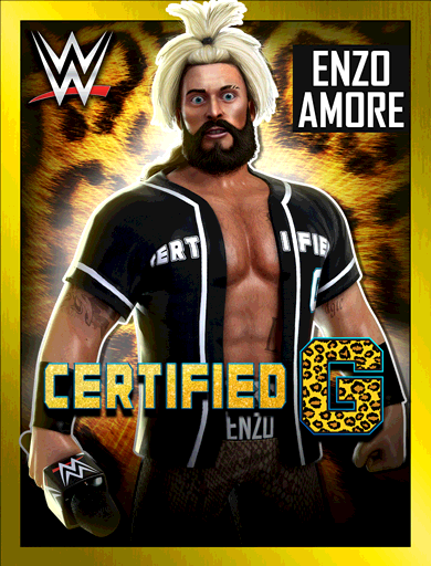 Enzo Amore 'Certified G'