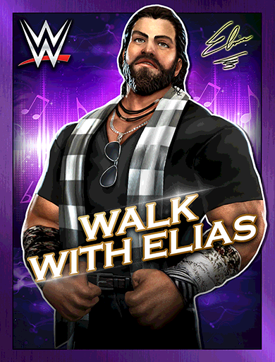 Elias 'Walk With Elias'