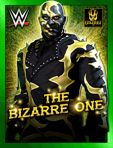 Goldust 'The Bizarre One' Poster