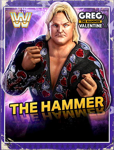 Greg Valentine 'The Hammer'