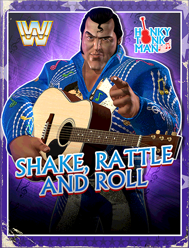 Honky Tonk Man 'Shake, Rattle and Roll' Poster