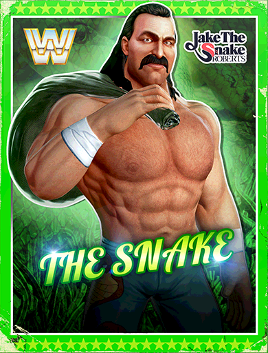 Jake Roberts 'The Snake' Poster