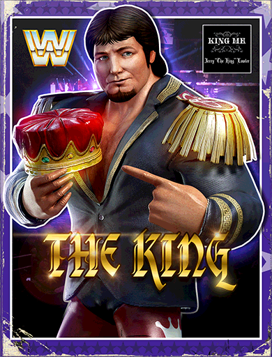 Jerry Lawler 'The King' Poster