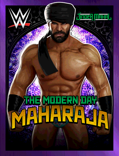 Jinder Mahal 'The Modern Day Maharaja'