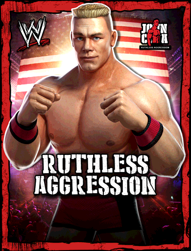 John Cena 'Ruthless Aggression' Poster