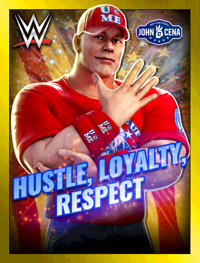 John Cena 'Hustle, Loyalty, Respect'