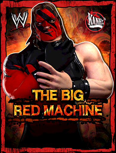 Kane 'The Big Red Machine' Poster