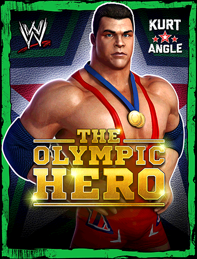 Kurt Angle 'The Olympic Hero'