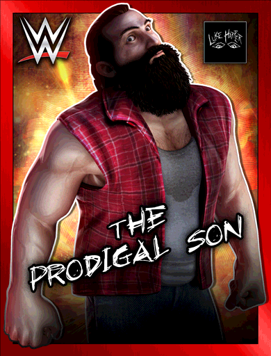 Luke Harper 'The Prodigal Son' Poster