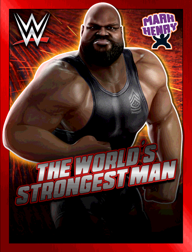 Mark Henry 'The World's Strongest Man' Poster