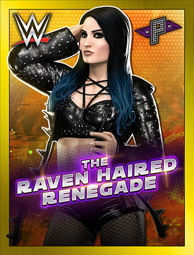 Paige 'The Raven Haired Renegade'