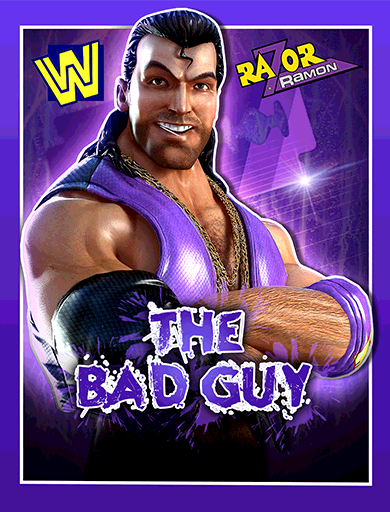 Razor Ramon 'The Bad Guy'