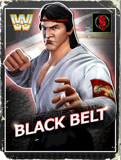 Ricky Steamboat 'Black Belt' Poster