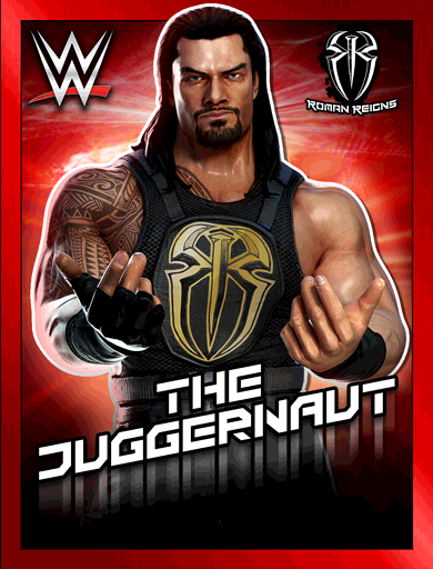 Roman Reigns 'The Juggernaut' Poster