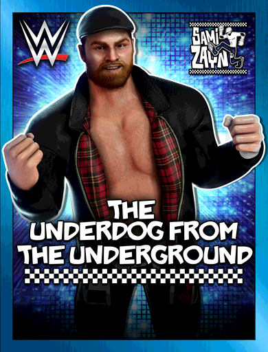 Sami Zayn 'The Underdog From The Underground' Poster