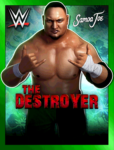 Samoa Joe 'The Destroyer' Poster