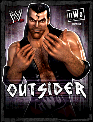 Scott Hall 'Outsider' Poster