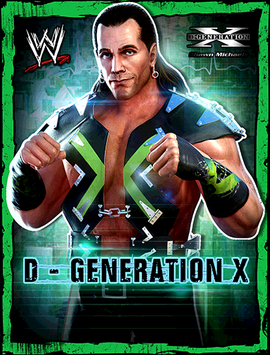 Shawn Michaels 'D-Generation X' Poster