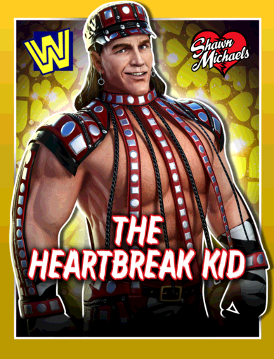 Shawn Michaels 'The Heartbreak Kid' Poster