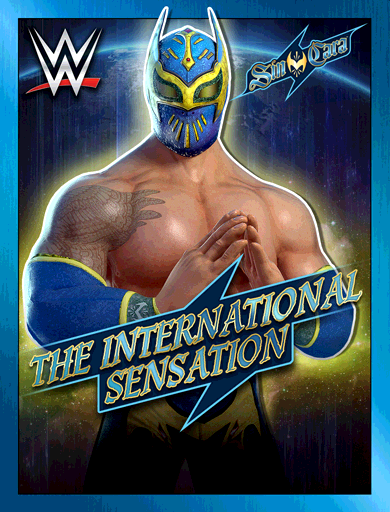 Sin Cara 'The International Sensation' Poster