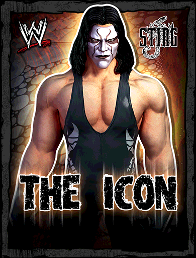 Sting 'The Icon' Poster