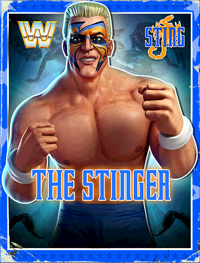 Sting 'The Stinger' Poster