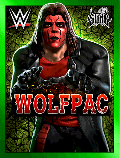 Sting 'Wolfpac' Poster
