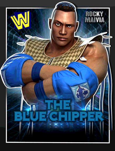 Rocky Maivia 'The Blue Chipper' Poster