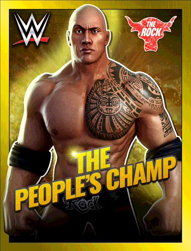 The Rock 'The People's Champ' Poster