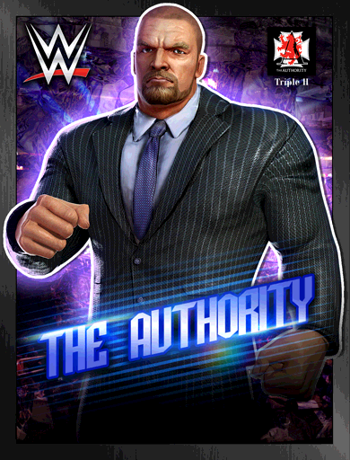 Triple H 'The Authority' Poster