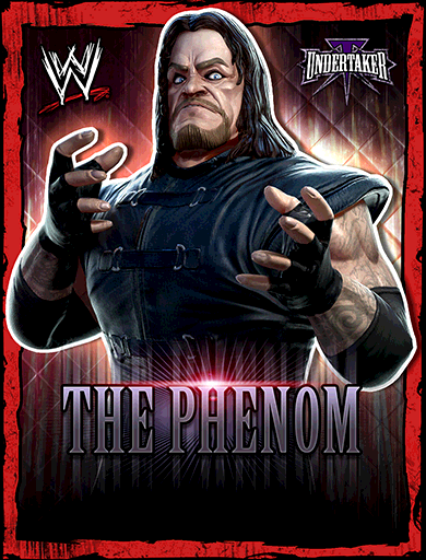 Undertaker 'The Phenom' Poster