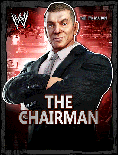 Mr. McMahon 'The Chairman' Poster